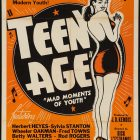 Vintage Advertising Poster: Mad Moments of Youth