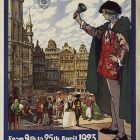 Vintage Poster: Municipality of Brussels 1923 4th Official Commercial Fair