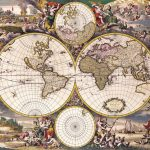 Ancient Map – 1690 Nova Totius Terrarum Orbis Tabula