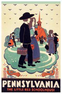Katherine Milhous Pennsylvania Vintage Travel Posters