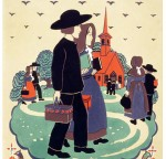 Vintage Travel Poster – 'Pennsylvania, The Little Red Schoolhouse' Katherine Milhous, 1939