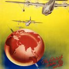 1938 Vintage Airline Poster: Qantas Empire Airways