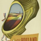 See Holland Vintage Travel Poster