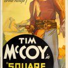 Square Shooter Vintage Film Poster, 1935