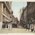 Vintage Boston Postcard by Detroit Publishing Co