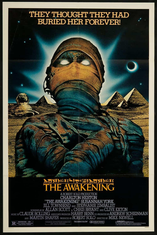 horror posters poster movie awakening 1980 movies film classic resolution mike retro thriller newell prints heston retrographik scary cool halloween