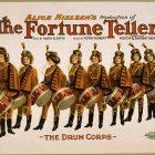 Alice Nielsen's Fortune Teller Vintage Theater Poster, 1905