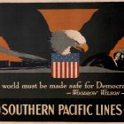 1918 Southern Pacific Lines Propaganda Poster