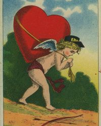 This-Messenger-Bears-my-Heart-to-My-Valentine-Postcard