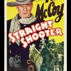 Straight Shooter Retro Movie Poster 1939