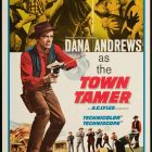 Town Tamer by Lesley Selander – High Resolution Movie Poster
