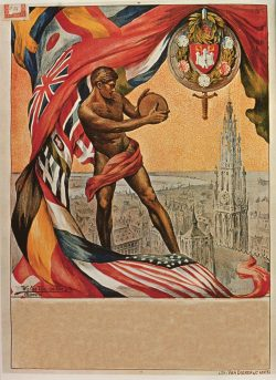 The VII Olimpiade (Olympics) Vintage Poster, 1920