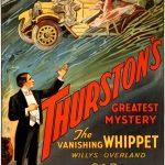 Thurston's Vanishing Whippet Vintage Magic Poster, 1929