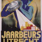 Art Deco Poster by Jaarbeeurs Utrecht's, 1920's