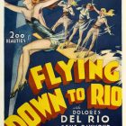 Flying Down to Rio Vintage Film Poster, 1933