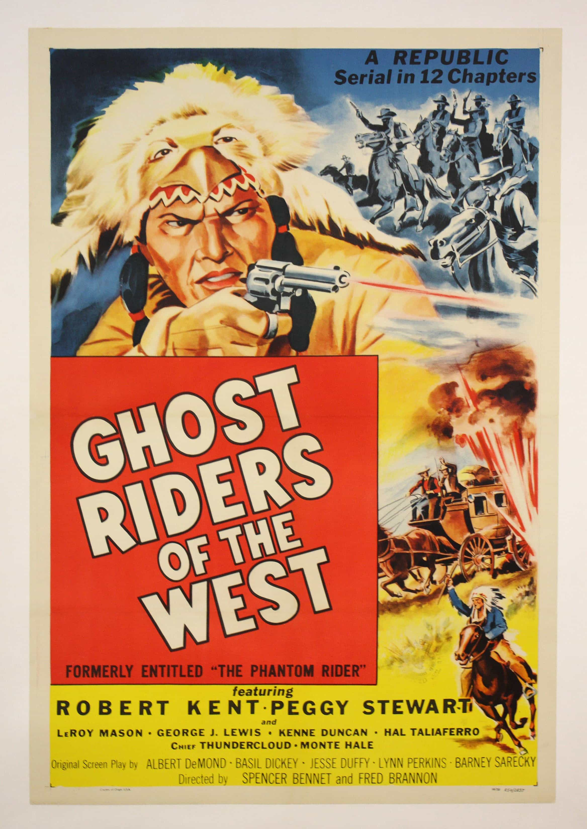 western movie posters ghost riders of the west 1946