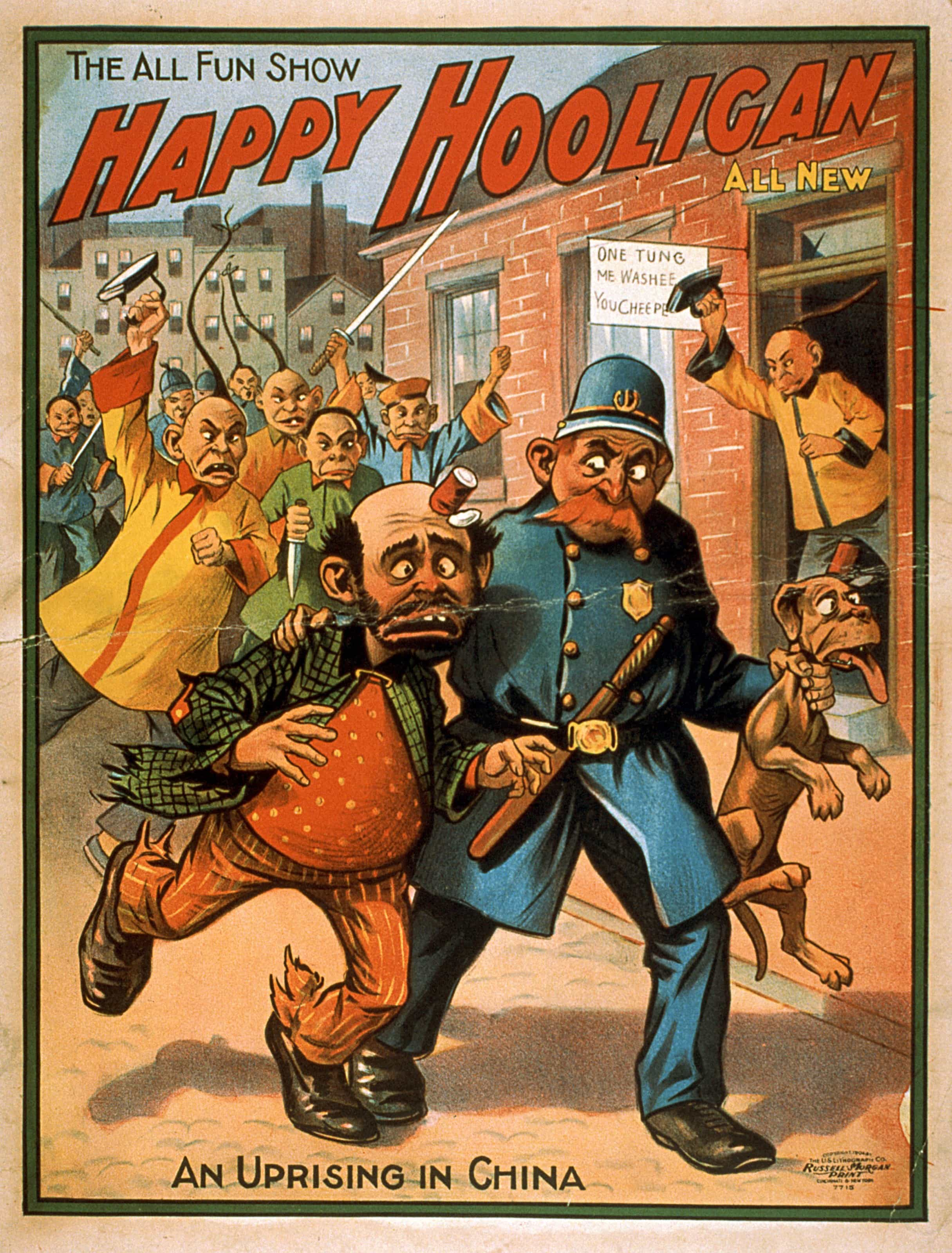 Vintage Theater Posters: Happy Hooligan- The All Fun Show, 1904