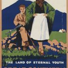 Ireland The Great Southern Railways Vintage Poster