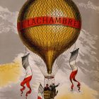 H. Lachambre Vintage Advertising Poster, 1880