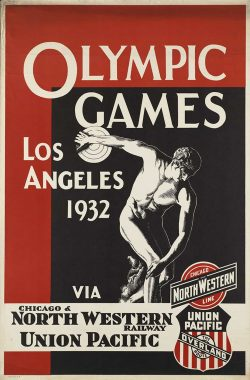Los Angeles Olympic Games Vintage Poster, 1932