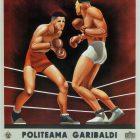 Politeama Garibaldi Vintage Boxing Poster, 1941