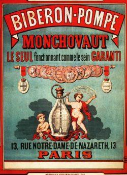 Biberon-Pompe Monchovaut Advertising Poster