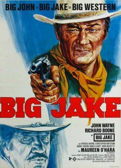 Big Jake Vintage Film Poster