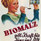 Biomalz German Vintage Advertising Poster