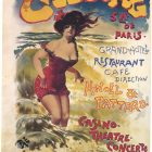 Cabourg Grand Hotel Vintage Advertising Poster