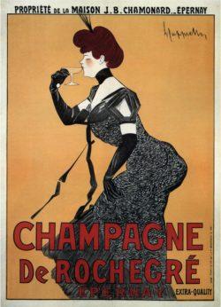 Champagne De Rochegre, 1910 Poster by Leonetto Cappiello