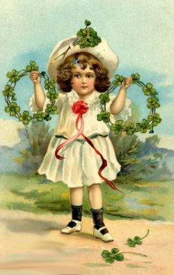 Flower Crowns – Vintage Christmas Clip Art