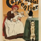 Chocolat Carpentier Ad Poster by Henry Gerbault, 1897