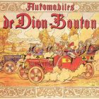 De Dion Bouton Vintage French Poster, 1883