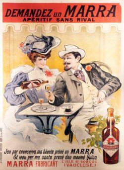 Demandez un Marra Poster by Francisco Tamagno, 1905
