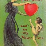 """""""Have a Little Pity on My Heart"""" Vintage Valentine Greeting Card"""