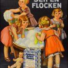 Vintage Advertising Poster: Hochdorfer Seifen-Flocken