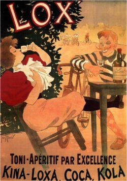 'Lox – Toni-Aperitif par Excellence' Poster by Georges Meunier, 1895