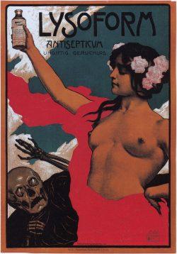 Lysoform Antisepticum – Vintage Advert Poster