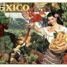 Mexico, Land of Tropical Splendor Tourism Poster