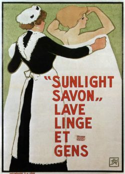 Sunlight Savon, 1910 Vintage Poster by Armand Rassenfosse