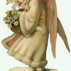 Victorian Angel: Vintage Christmas Clip Art