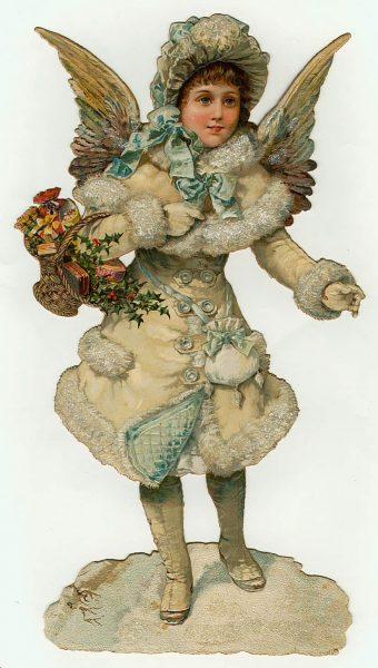 Victorian Angel Clip Art