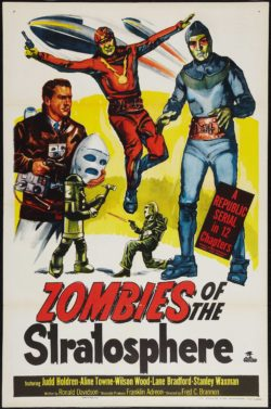 Zombies of the Stratosphere Original Vintage Movie Poster, 1952