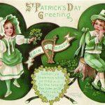 Erin Go Bragh Vintage St. Patricks Greeting Card