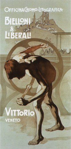 Bielloni & Liberali Vintage Italy Posters