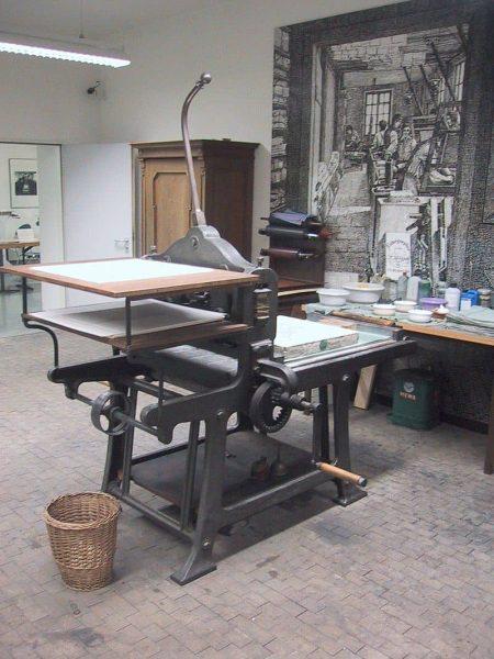 lithography press