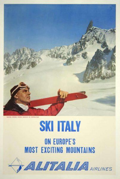 Alitalia Airlines - Ski Italy