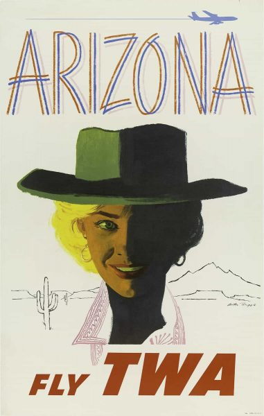 Fly TWA - Arizona by Austin Briggs