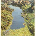 Vintage Travel Poster: Lake of Thun, Switzerland
