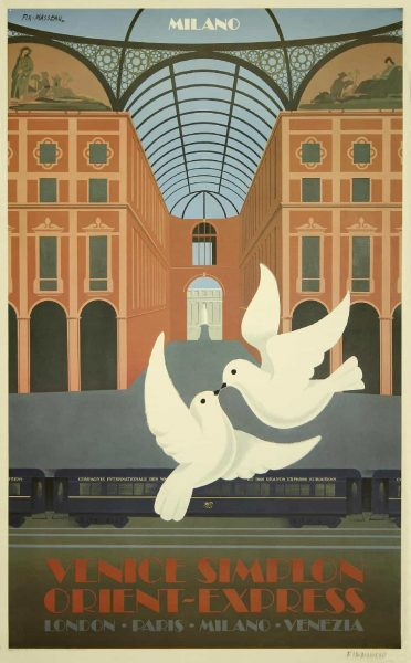 Venice Simplon Orient-Express – Milano - Pierre Fix-Masseau